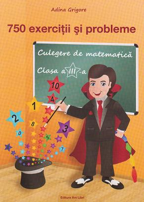 750 exercitii probleme Culegere matematica