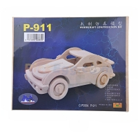 911 Model Wooden Construction Puzzle