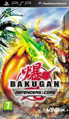 BAKUGAN DEFEND THE CORE PSP