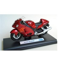 Macheta Motocicleta Suzuki Hayabusa 1:18