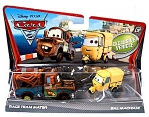 Set 2 Masinute Cars 2 - Mater si Sal Machiani
