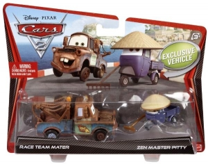 Set 2 Masinute Cars 2 - Mater si Zen