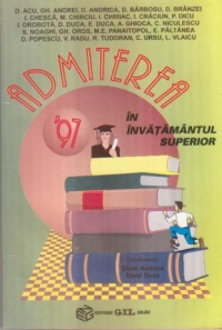 Admiterea 1997 invatamantul superior Bacalaureat