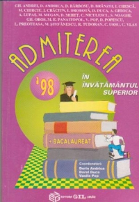 Admiterea 1998 invatamantul superior Bacalaureat