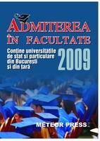 Admiterea in facultate 2009