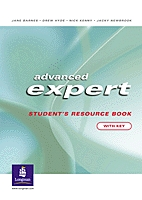Advanced Expert Students Resource Book