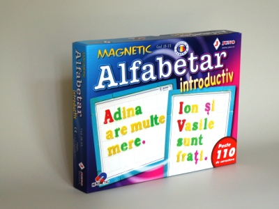 Alfabetar magnetic introductiv cifre