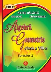 Algebra. Geometrie, Clasa a VIII-a, Semestrul II 2012