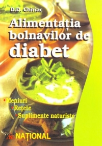 Alimentatia bolnavilor diabet (meniuri retete