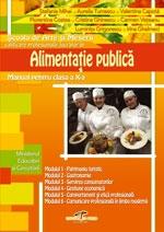 Alimentatia publica - manual pentru clasa a X-a, SAM, calificarea profesionala lucrator in alimentatia publica