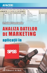 Analiza datelor marketing Aplicatii SPSS