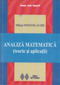 Analiza matematica (teorie si aplicatii)