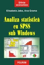 Analiza statistica SPSS sub Windows