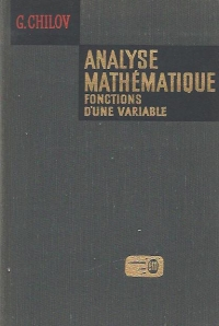 Analyse mathematique Fonctions une variable