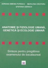 Anatomie fiziologie umana genetica ecologie