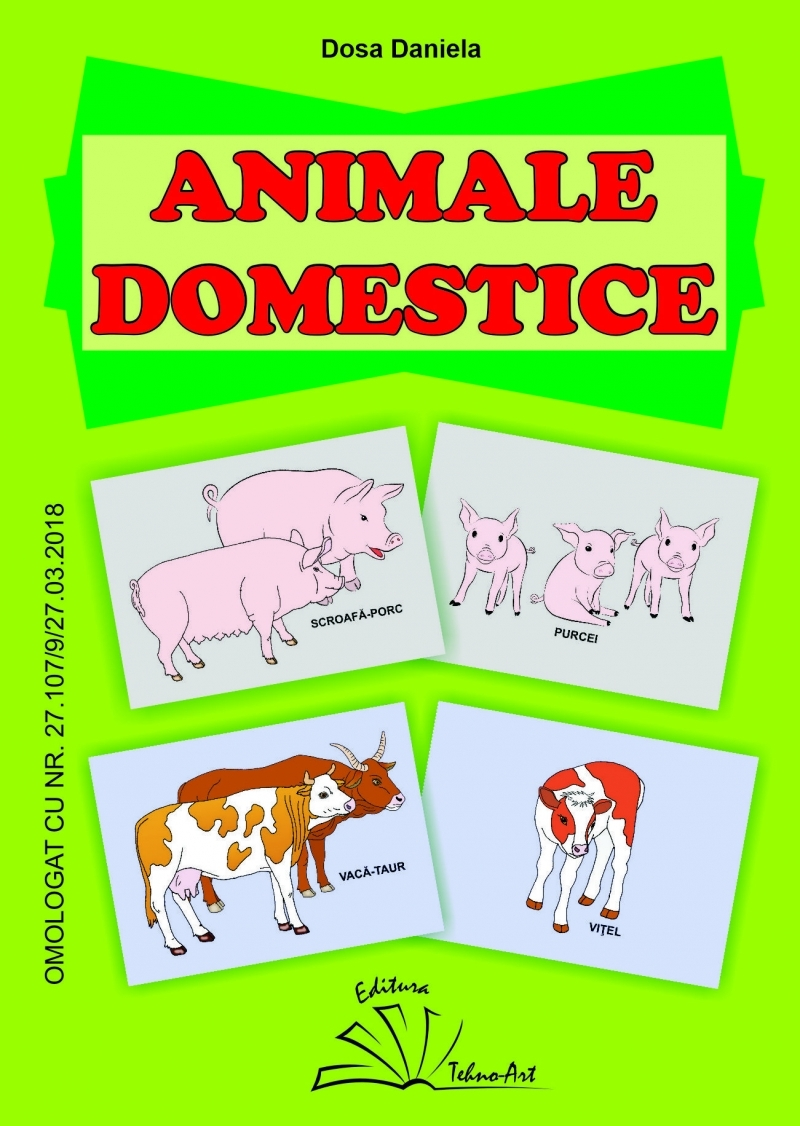 Animale domestice(jetoane)