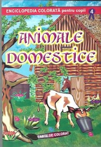 Animale domestice Carte colorat