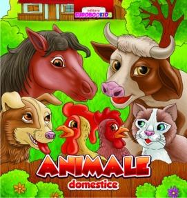 Animale domestice - pliant cartonat (romana - engleza - germana - italiana - franceza)
