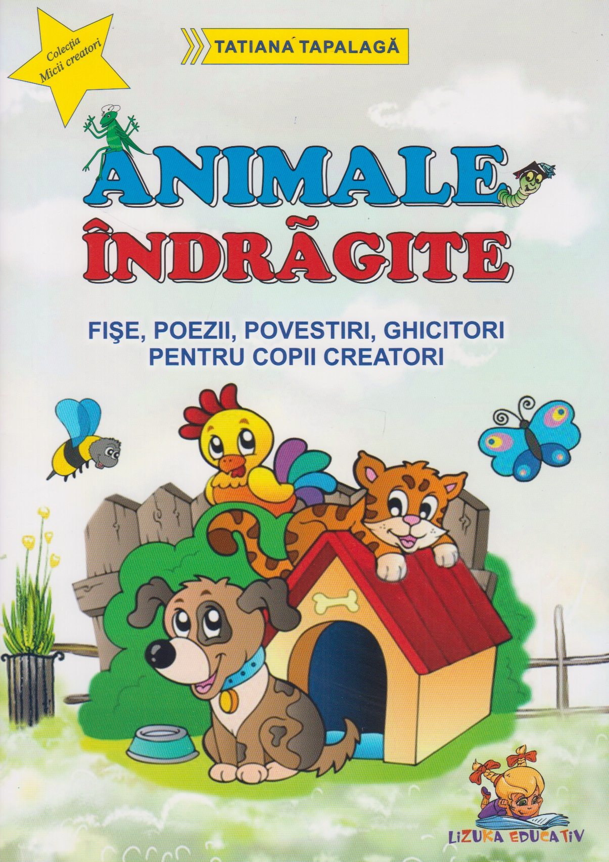 Animale indragite Fise poezii povestiri