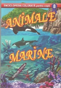 Animale marine Carte colorat