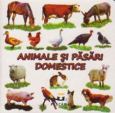 Animale pasari domestice (cartonata)