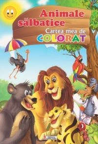 Animale salbatice Cartea mea colorat