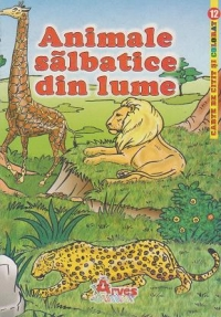Animale salbatice din lume carte