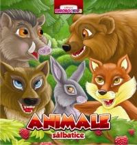 Animale salbatice - pliant cartonat (romana - engleza - germana - italiana - franceza)