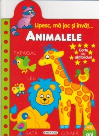 Lipesc joc invat Animalele Carte