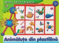Animalute din plastilina Activitati ani