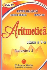 Aritmetica, Clasa a V-a - Semestrul I (2012)