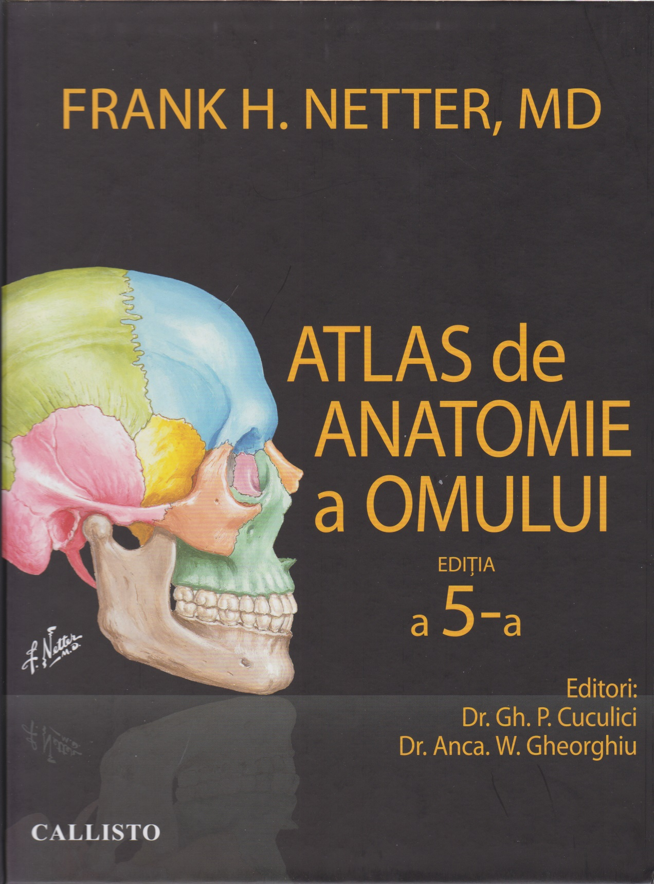 Atlas anatomie omului Netter (editia