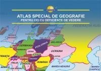Atlas special de geografie pentru cei cu deficiente de vedere