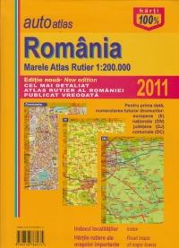 AutoAtlas Romania - Mare atlas rutier 1:200.000 (Editie 2011)