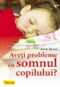 Aveti probleme somnul copilului