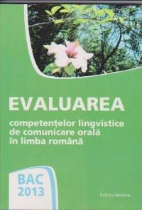 BAC 2013 Evaluarea competentelor lingvistice