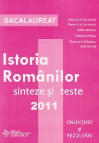 Bacalaureat 2011 Istoria Romanilor Sinteze