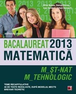 BACALAUREAT 2013 MATEMATICA M_ST NAT