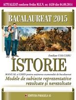 BACALAUREAT 2015 ISTORIE MODELE SUBIECTE