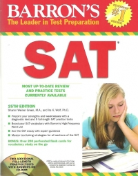 BARRON The leader test preparation