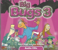 Big Bugs Audio CDs (3)