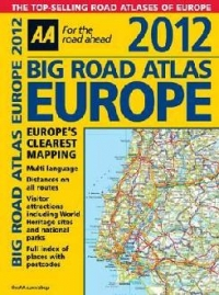 Big Road Atlas Europe 2012