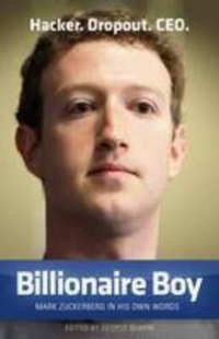 Billionaire Boy Mark Zuckerberg his