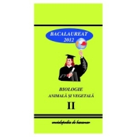 Biologie Animala Vegetala Bacalaureat 2012