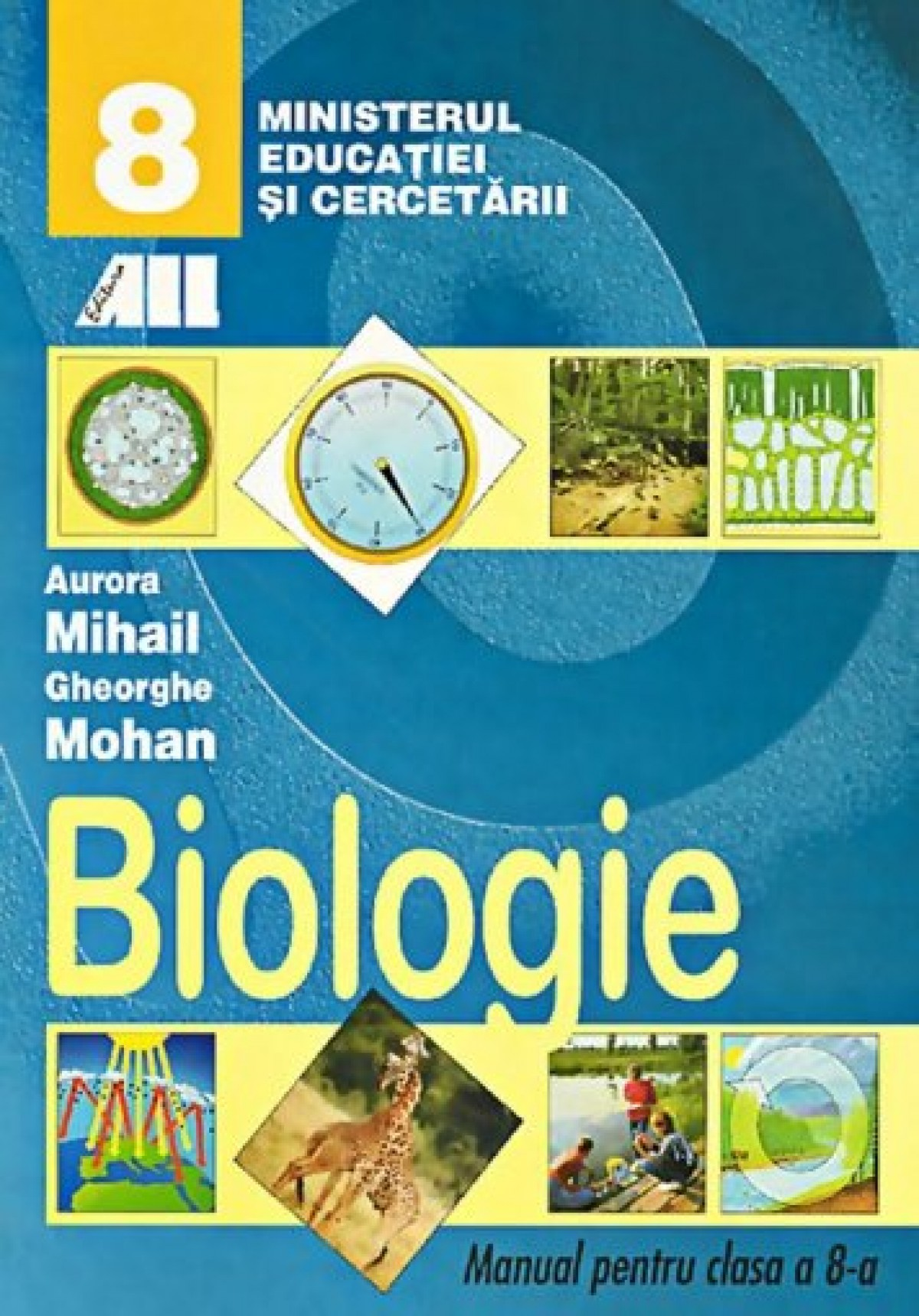 BIOLOGIE MANUAL PENTRU CLASA VIII