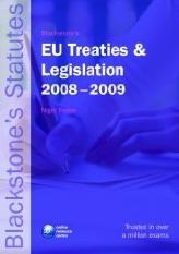 Blackstone Treaties and Legislation 2008