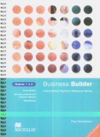Business Builder Modules 7 8 9