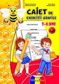 CAIET de EXERCITII GRAFICE 3-4 ANI (B5) - 2014