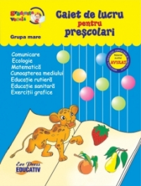 Caiet lucru pentru prescolari (GRUPA
