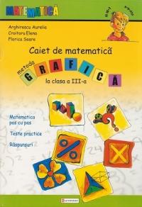 Caiet de matematica. Metoda grafica la clasa a III-a